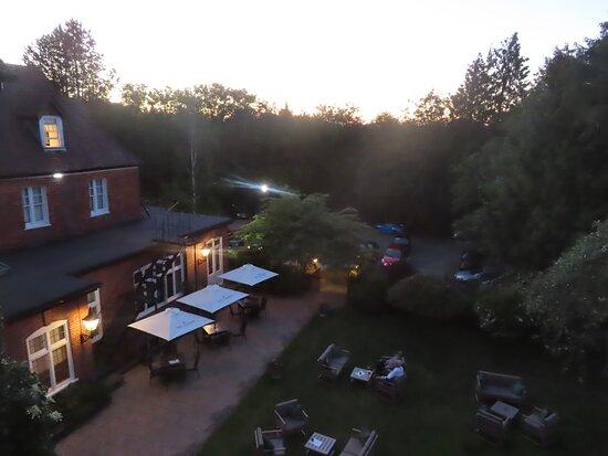 Overlooking the garden - from room 216