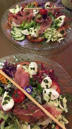 Albeuve, Suisse : Salades italiennes