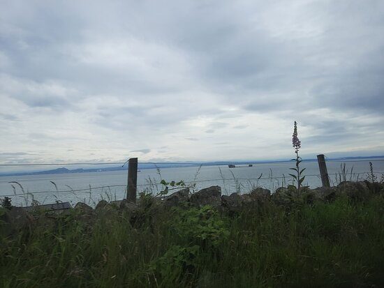 Dalgety Bay View Point....