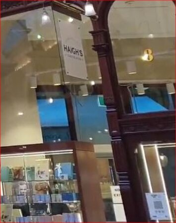 Haigh's Chocolates Block Arcade