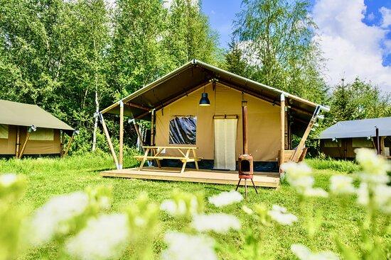 Kom deze zomer in loungen in onze kant-en-klare campinghuisjes! Onze lodges staan ingericht en wel voor je klaar en zijn met 2 tot 5 vakantiegangers te boeken.