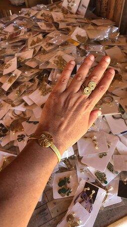 O ouro do Jalapão, jóias de capim dourado