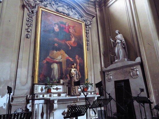 La cappella principale di dx