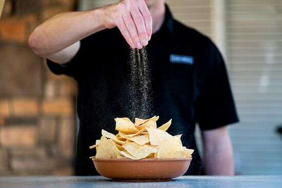 Our perfectly seasoned chips