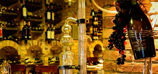 Bar del restaurante Italia Artesana