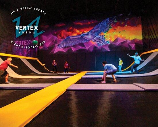 เรดมันด์, วอชิงตัน: Dodgeball Court - Vertex Arena