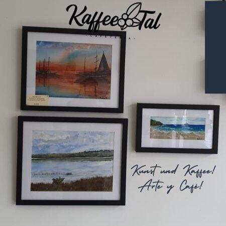 Porque el arte tambien tiene su espacio en nuestra cafetería