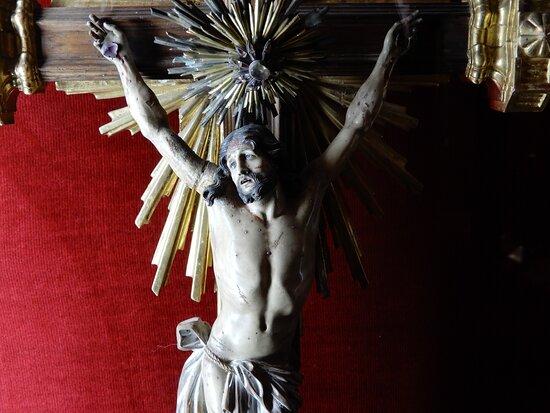 Cristo de los Rubíes. Museo de la catedral