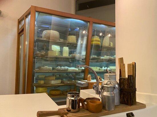 Cámara de conservación de quesos