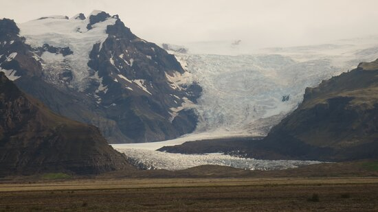 İzlanda: Mt Hvannadalshnukur 2110m and Oraefajokull glacier