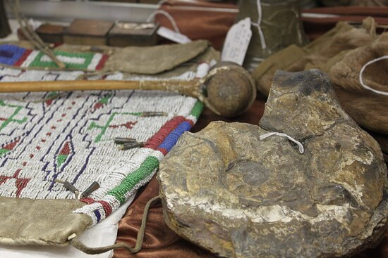Historical artifacts will peak your interest in local history.