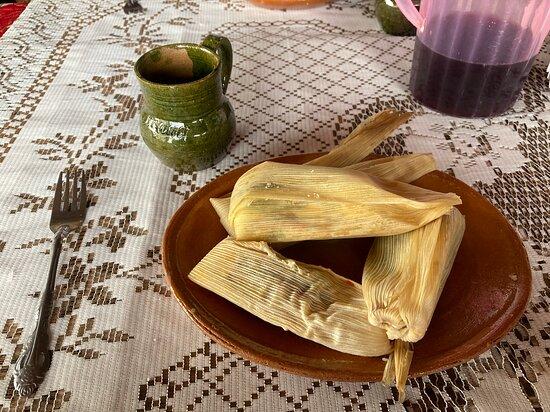 Tamales and Mezcal