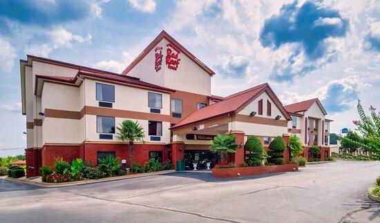sunset photo of hotel 2020 - Picture of Red Roof Inn Atlanta Southeast, Stockbridge - Tripadvisor