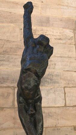 Skulptur Marsyas I Statue socha Bayreuth - Skulptur