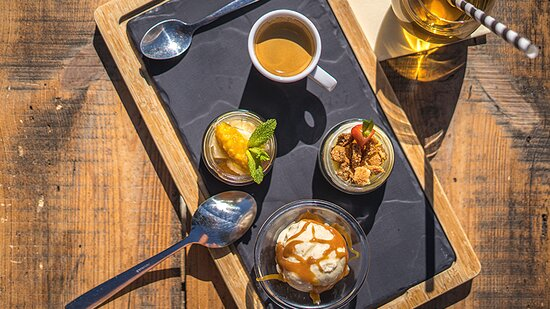 Café ou thé gourmand aix&terra