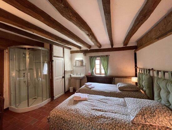 Une chambre des chambres d'hôtes