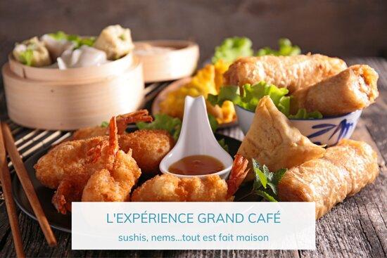 Cuisine asiatique du Grand Café