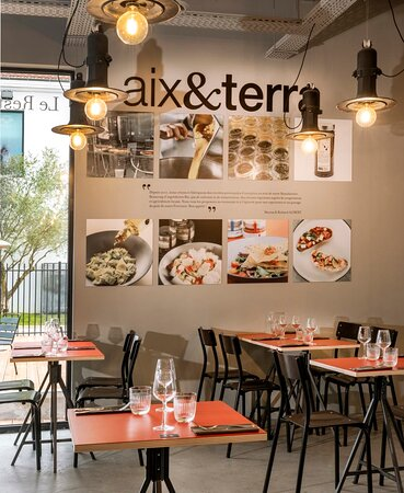 Salle de restauration Aix&terra Romans Marques Avenue