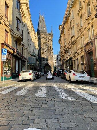 براج, جمهورية التشيك: Prašná Brána