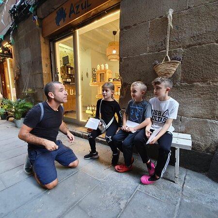 מתוך סיור הדרקונים | דויד קובוס סיורים בברצלונה