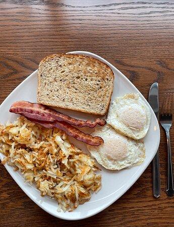 The All American breakfast
