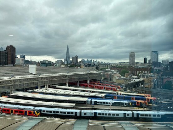 Waterloo Station from room 911