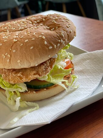 Chicken burger!  add £1 for chips + drink :)