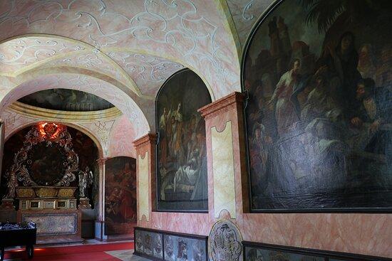 the baroque cloister