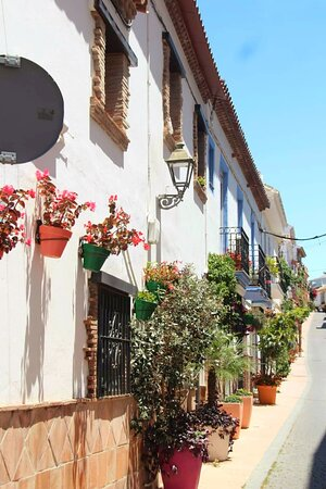 The historic centre of Estepona has points of interest round every corner