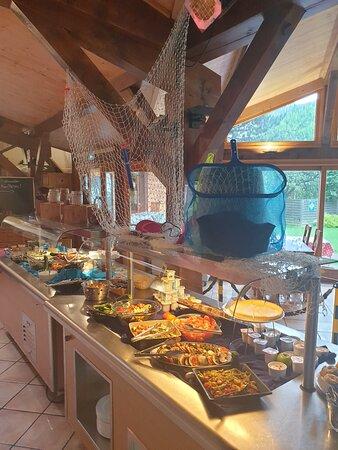 Suite buffet a morzine