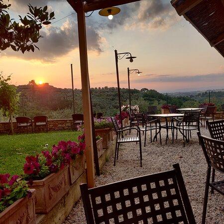 Panorama sulle crete - Foto Ristorante Ritorno di Fiamma, Montisi - Tripadvisor