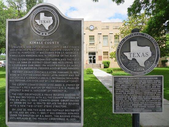 Historic Kimble County Courthouse