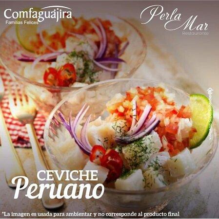 El mejor ceviche peruano de Riohacha