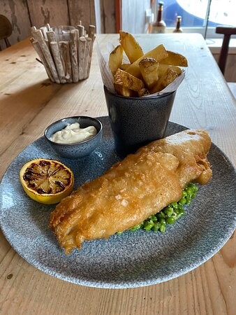 Our version of fresh fish and chips