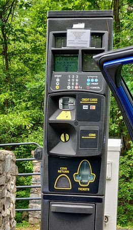 Credit card machine at the bottom.