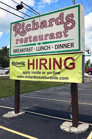 Decatur, IN: Like many restaurants, Richard's is seeing employees too