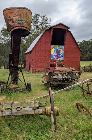 Great way to see the beautiful Alabama countryside and barn quilts