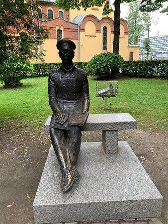 Памятник Студенту Политеха
