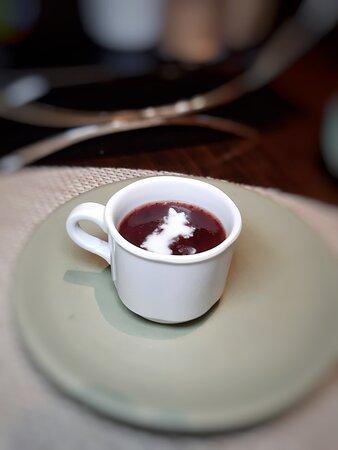 椰汁紫糯米