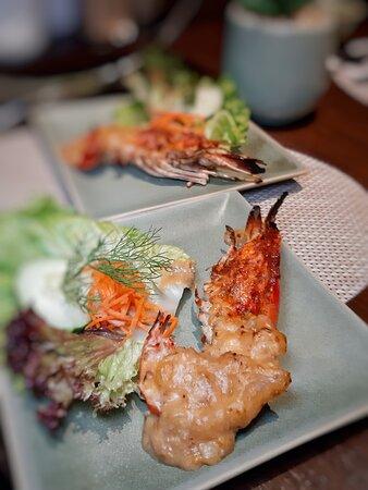 炭燒越南大頭蝦