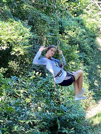 Ziplining is the perfect addition to your island tour.