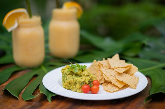 Guacamole from local avocados (made daily).