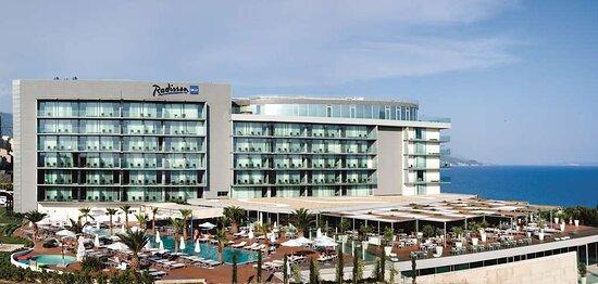 Exterior Hotel View Logo