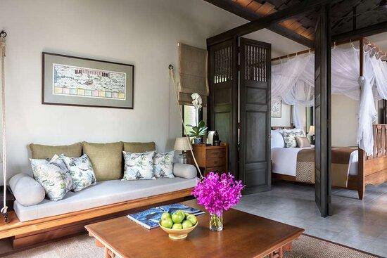 Anantara Seaview Pool Villa living room