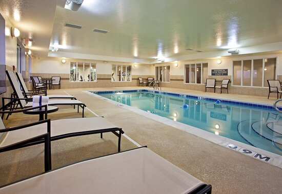 Relax with your family in the comfort of our indoor pool facility