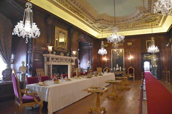 wonderful castle interior