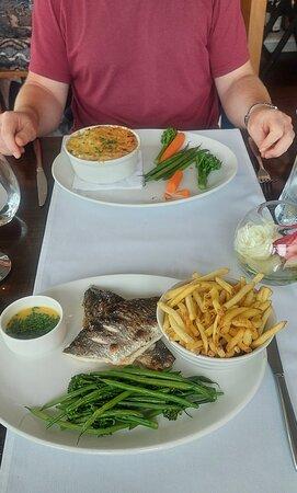 Sea Bream Beurre Blanc and Fish Pie