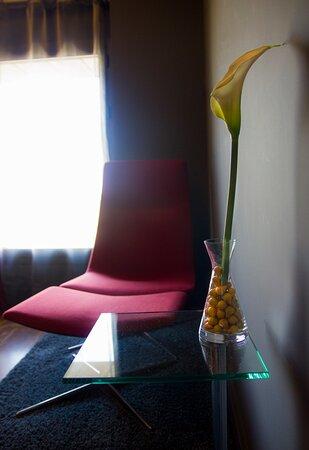 Hotel Raíz, detalle habitación