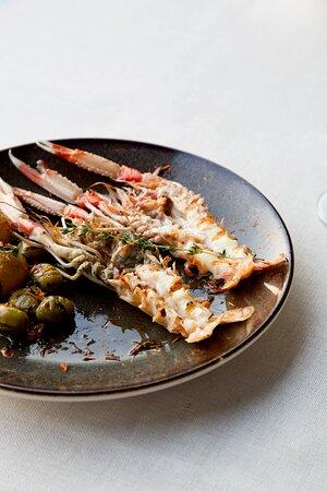 Izgara Kerevit   Grilled Crayfish