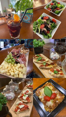 Monte Gordo, Portugal: Nosso menu
